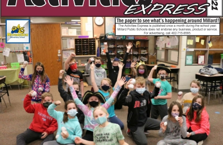 April 2021 Activities Express Cover