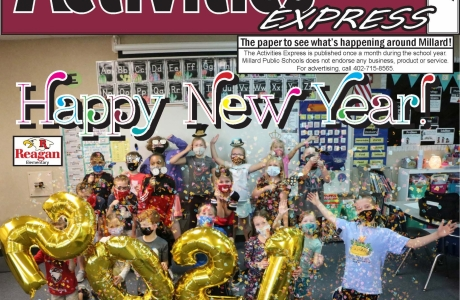January 2021 Activities Express Cover