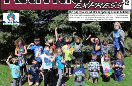 May 2021 Activities Express Cover
