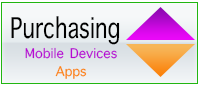 Technology purchasing mobile devices and apps image