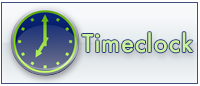 Time Clock Logo